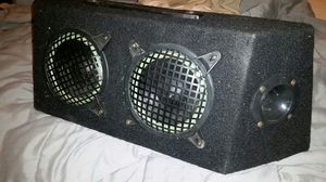 Speaker box With woofers and tweeters for Sale in Falls Church, VA