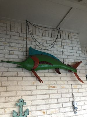 Metal Fish for Sale in Burleson, TX