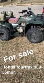 95 Honda Fourtrax 300 NOT 4x4 for Sale in Fort Worth, TX