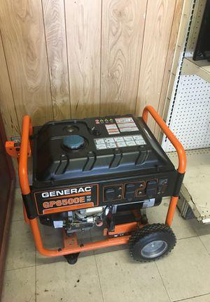generac generator (model:GP6500E) 6500 watts for Sale in Austin, TX