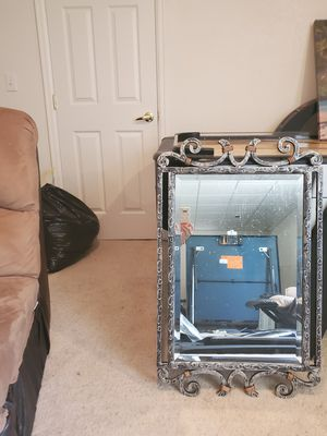 Metal wall mirror for Sale in Golden, CO