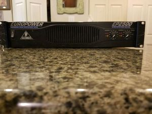 Amplifier - EUROPOWER for Sale in Chicago, IL