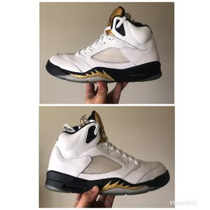 Used Jordan 5 Golden Medals Size 10.5 for Sale in Oxon Hill, MD