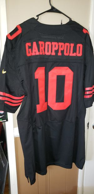 New!!! Men's 3XL Men's Jimmy Garoppolo San Francisco 49ers Jersey New with Tags Stiched Nike Vapor Untouchable $55. Ships +$3. Pick up in West Covina for Sale in West Covina, CA
