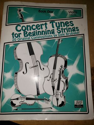 Violin music book for Sale in Gilbert, AZ