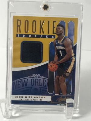 Zion Williamson RC Absolute Rookie Threads Card for Sale in Minneapolis, MN