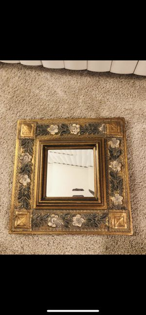 Artistic Mirror with Hanger in the Back for Sale in Hayward, CA