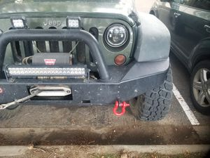 ARB front and rear bumpers with lights and Warn winch for Sale in Golden, CO