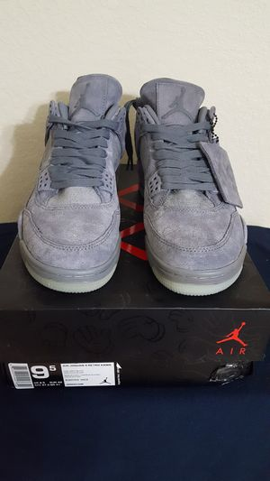 Jordan 4 Kaws size 9.5 for Sale in Waverly, FL