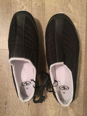 Brand new black slip on shoes. Size 8.5 women. So comfortable for Sale in Fort Pierce, FL