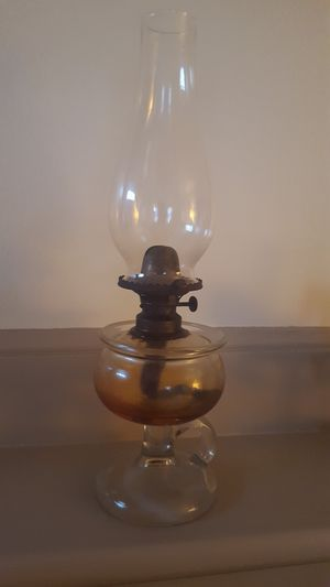 Antique oil lamp for Sale in Somerset, MA