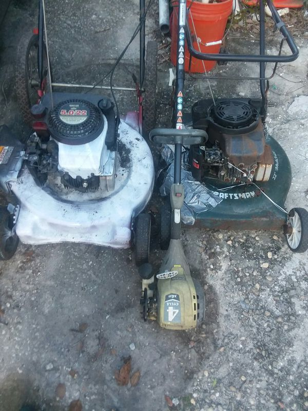 Lawn Mower And Weed Eater For Sale In Orlando Fl Offerup