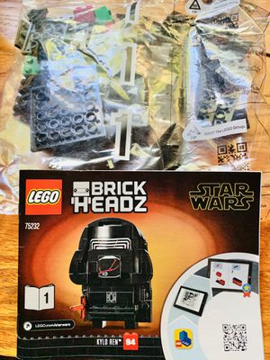 Star Wars LEGO Brick Heads Kylo + Assembled Sith Trooper for Sale in Pasadena, CA
