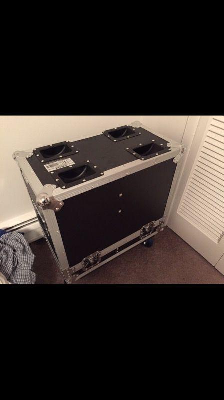 Qsc k8 flight case.