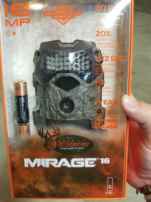 Wildgame 16 mp trail camera for Sale in Deerfield, OH