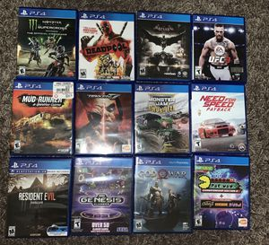 Ps4 Games for Sale in Auburn, WA