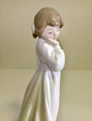 RARE NAO BY LLADRO MY RAG DOLL #1108 NEW IN BOX LITTLE GIRL NIGHT GOWN for Sale in Brooklyn, NY