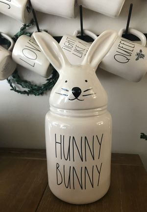 Rae Dunn hunny bunny canister for Sale in Valley Home, CA