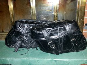 Leather Motorcycle Saddlebags unused for Sale in Bremerton, WA