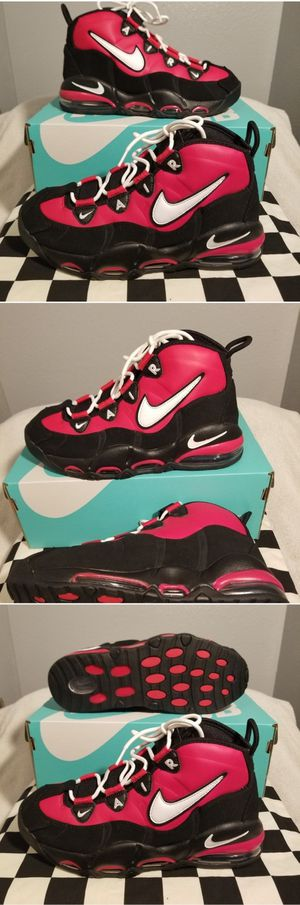 """Nike Air Max Uptempo '95 """"Chicago Bulls"""" CK0892-600 Red White Black Men's Shoes for Sale in Pomona, CA"""