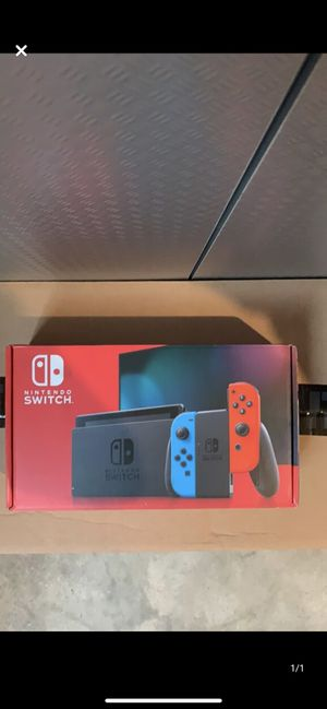 Nintendo Switch Console Red and Blue Joy/Cons for Sale in Westminster, CO
