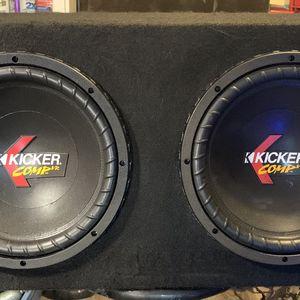2 Kicker Comp VR12's w/Box for Sale in Beavercreek, OR
