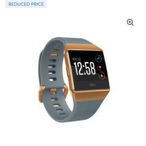 Fitbit Ionic Smartwatch Slate Blue/Orange for Sale in Bonita, CA