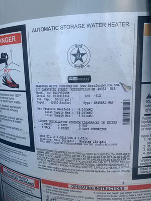 50 Gallon Natural Gas Water Heater for Sale in Seattle, WA