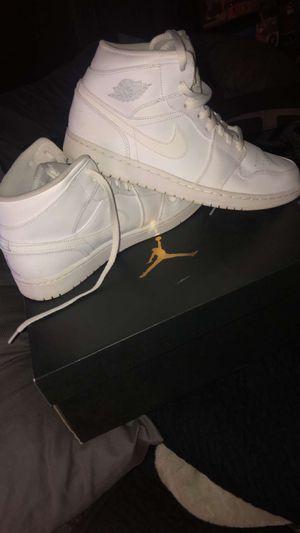 Jordan 1 white for Sale in Longview, TX