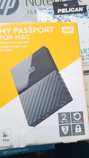 Brand new sealed MY PASSPORT MAC for Sale in Rialto, CA