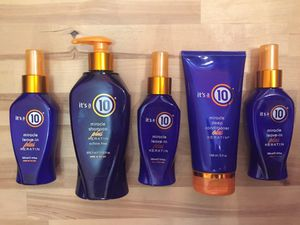 It's a 10 HIGH END HAIR PRODUCTS SET!!!! for Sale in Saint Charles, MO