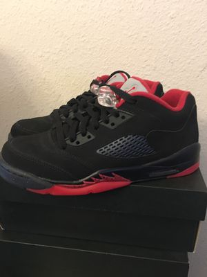 Air Jordan 5 Retro Size 7y New in Original Box $100 -100% Authentic- for Sale in Kissimmee, FL