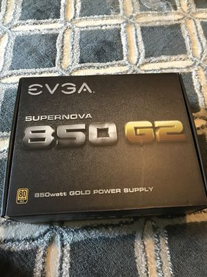 EVGA Power Supply with everything in it and box for Sale in Atlanta, GA