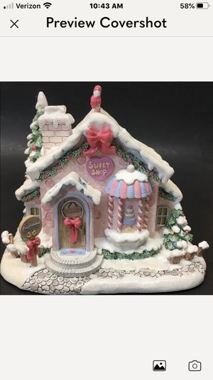 Precious Moments Christmas Village Sweet Treats Shoppe for Sale in Auburn, WA