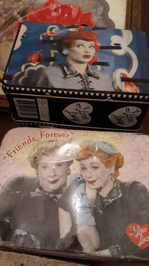 Antique Love Lucy miniature pails for Sale in Alexandria, LA