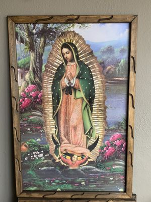 Virgin Mary frame 3ft by 2ft for Sale in Los Angeles, CA
