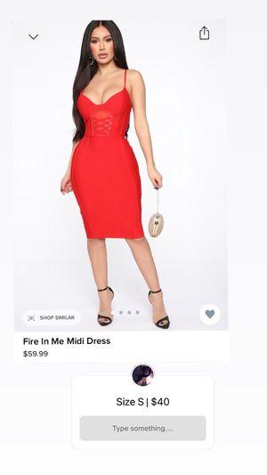Fashion Nova Red Dress for Sale in Des Moines, WA