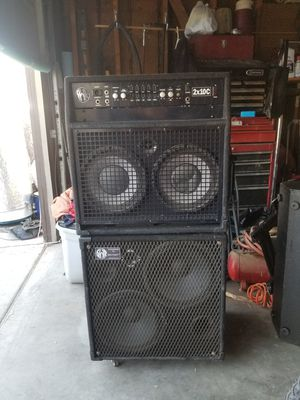Swr 2x10 and bigfoot extension cab for Sale in Las Vegas, NV