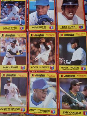 25 All-star Jimmy Dean Signiture Eddition Baseball Cards for Sale in Salt Lake City, UT