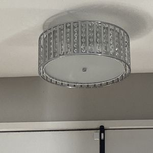 Chandelier And Medallion, And Mounted Lighting for Sale in Fontana, CA