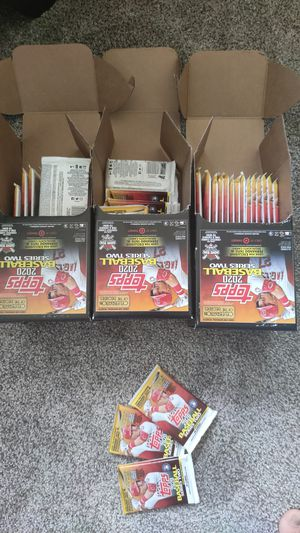 Topps series 2 baseball cards packs for Sale in Fairport, NY