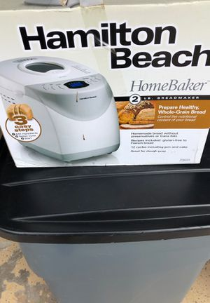 Hamilton Beach bread maker. Never used an original unopened carton. for Sale in Boynton Beach, FL