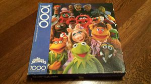 Vintage Muppets Jigsaw Puzzle - Complete! (1000 pcs) for Sale in Lynnwood, WA