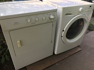White front load clothes dryer for Sale in Golden, CO