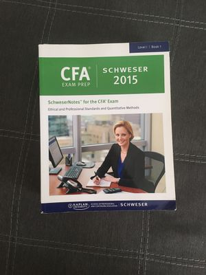 CFA Level I Schweser notes FOR FREE! for Sale in Falls Church, VA