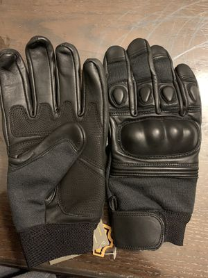 Leather motorbike gloves for Sale in Alexandria, VA