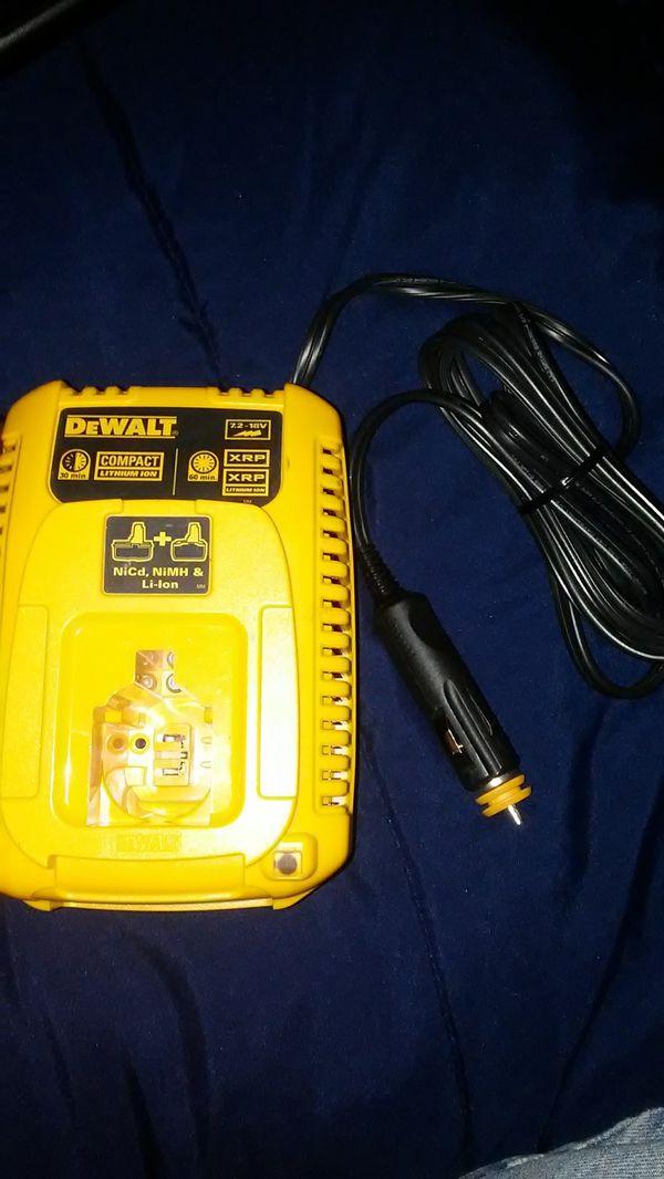 $30. DeWalt 7.2v-18v Vehicle charger 3 Amp DC9319