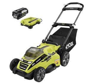 20 in. 40-Volt Brushless Lithium-Ion Cordless Battery Walk Behind Push Lawn Mower 5.0 Ah Battery and Charger Included for Sale in Seattle, WA