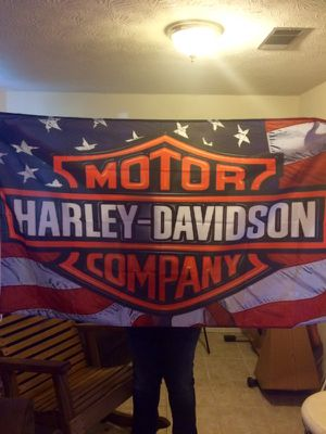 Harley Davidson 3x5 ft banner 15.00firm for Sale in Jacksonville, FL
