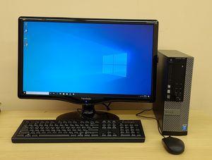 """Dell Desktop Optiplex i5 windows 10 Pro 24"""" for Sale in Chicago, IL"""